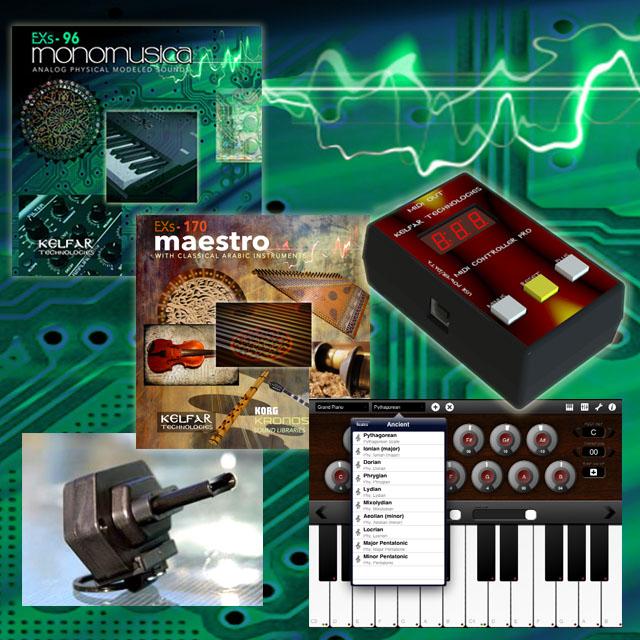 Kelfat Technology World Music Hardware & Software Products