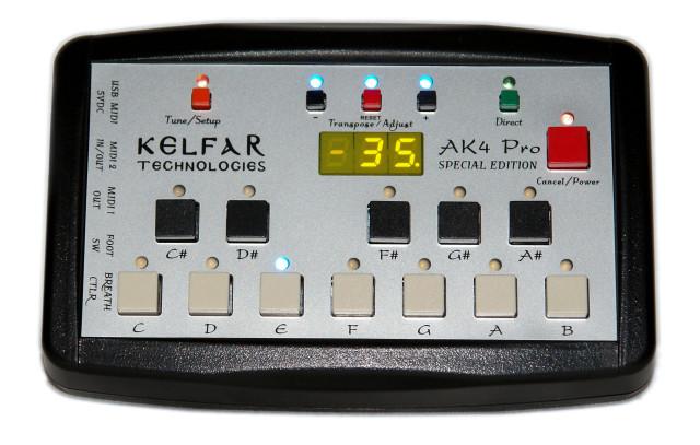 Kelfar Technologies AK-4 world scale tuning converter